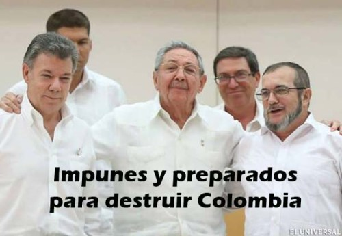 FARC y Castro impunes