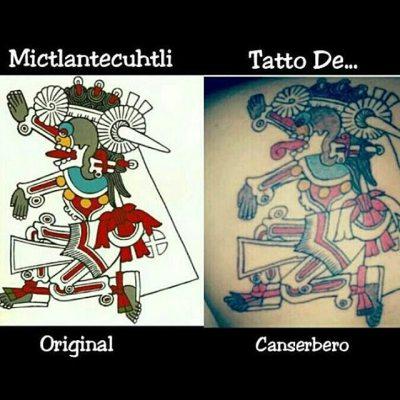 Resultado de imagen para tatuaje canserbero espalda