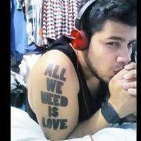 Resultado de imagen para tatuajes canserbero