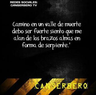 Camino en un valle de muerte debo ser fuerte siento que me alan de los brazos almas en forma de serpiente. #canserbero
