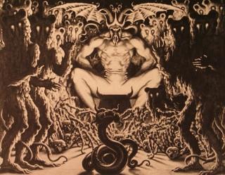Resultado de imagen para demonio devora cordero