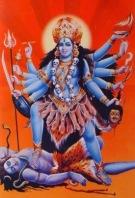Resultado de imagen para diosa kali azul